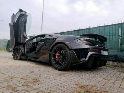 Scarico per McLaren 600LT