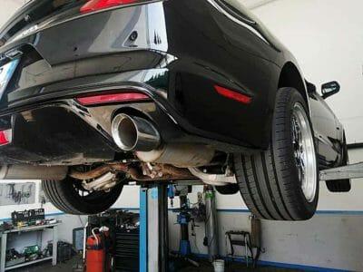 Scarico artigianale Ford Mustang