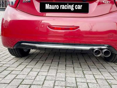 Scarico sportivo Peugeot 208 gti